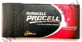 Duracell ProCell AAA 10шт