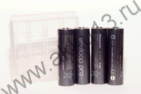 Panasonic Eneloop Pro AA (BK-3HCCE-4BE 2450mAh) box