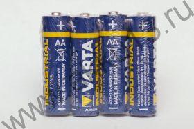 4x Varta Industrial AA (Alkaline)